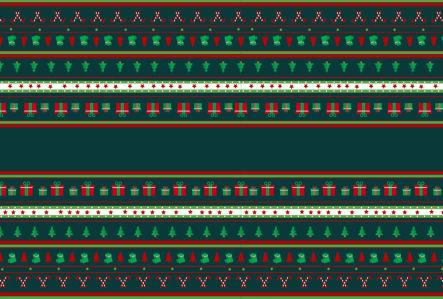 Скатерть Новогодний орнамент (0147)