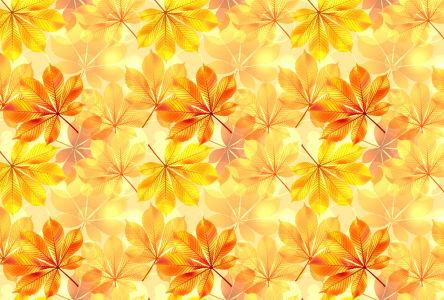 Скатерть осенние листья (0158)