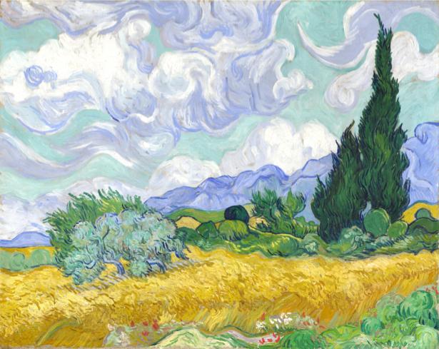 Ван Гог пейзаж (art-0000298)
