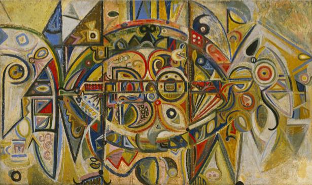 Ричард Пузетт-Дарт, экспрессионизм (art-0000632)
