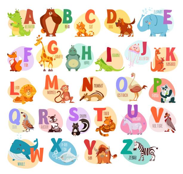 Фотообои Веселый английский алфавит (child-430)