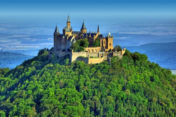 Фотообои замок-крепость Германия (city-0000053)