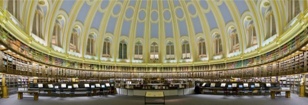 Фотообои Читальный зал Британского музея, Великобритания, Англия (city-0000058)