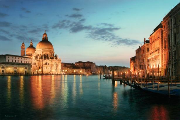 Фотообои город вода Венеция (city-0000571)