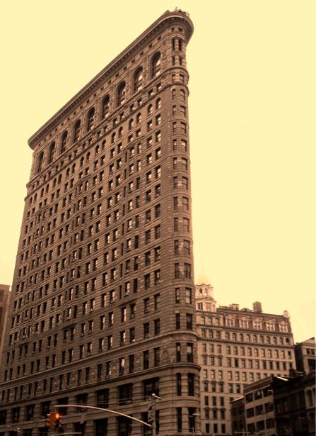 Фотообои Америка, Флэтайрон-билдинг (city-0000600)