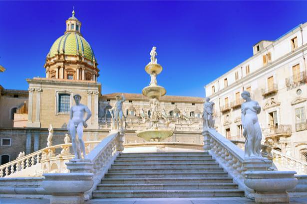 Фотообои Италия Сицилия, Европа дворец (city-0000767)