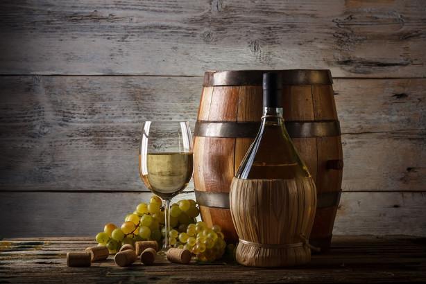 Фотообои Вино из бочки (food-372)