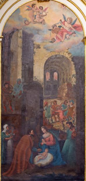 Фотообои фреска Рождество (fresco-002)