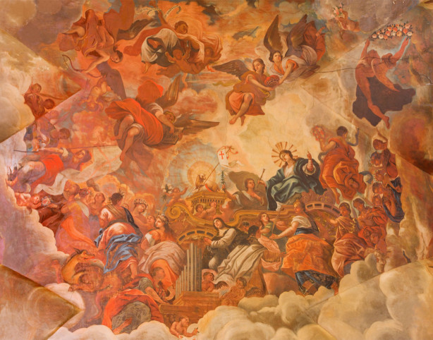 Фотообои Слава агнца Божьего (fresco-013)