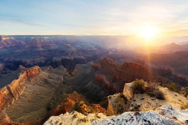 Фотообои Гранд-Каньон восход (nature-0000760)
