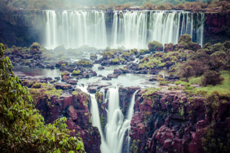 Фотообои водопады Игуасу (nature-0000855)