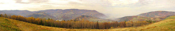 Фотообои горная панорама осень (panorama_0000012)