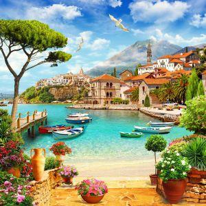 Красивые фотообои Итальянская набережная (print65)