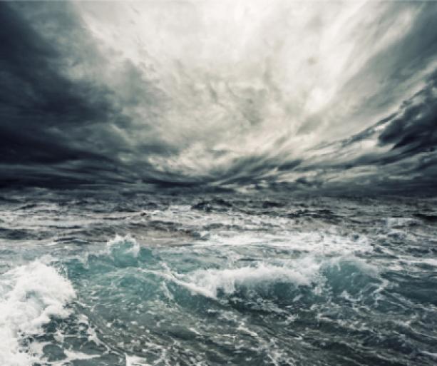 Фотообои море волны шторм фото (sea-0000059)