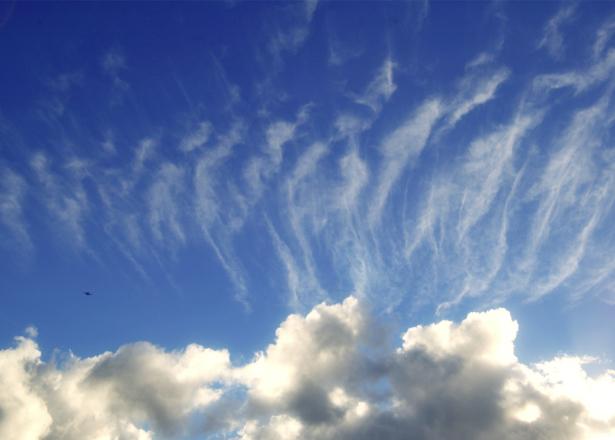 Фотообои облачное небо в спальню (sky-0000142)