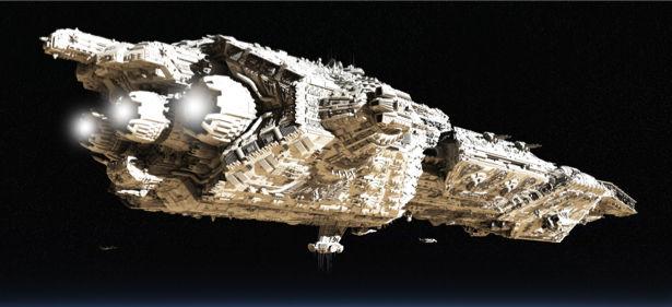 Фотообои корабль космический (space-0000068)
