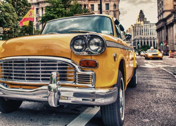 Фотообои Нью-Йорк такси (transport-0000236)