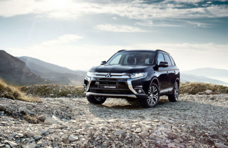 фотообои mitsubishi outlander (transport-313)