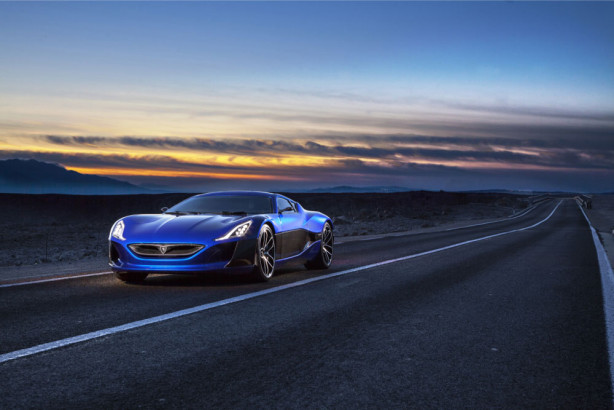 фотообои Rimac Concept One (transport-319)