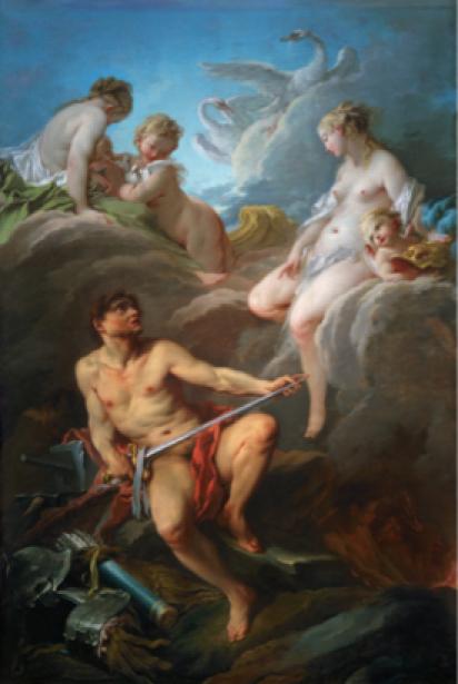 Франсуа Буше, жанровая композиция (art-0000131)