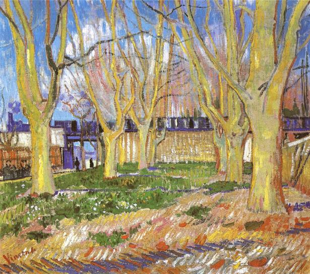Ван Гог пейзаж (art-0000160)