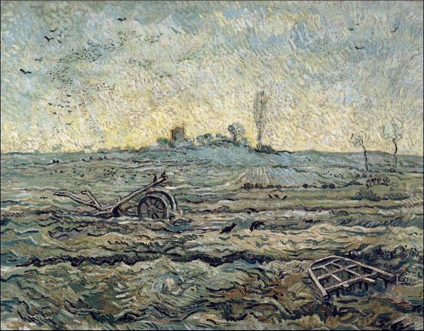 Ван Гог пейзаж (art-0000269)