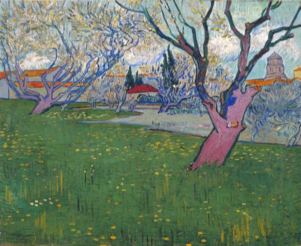 Ван Гог пейзаж (art-0000289)