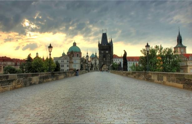 Фотообои Прага, Чехия, мост, Карлов (city-0000101)