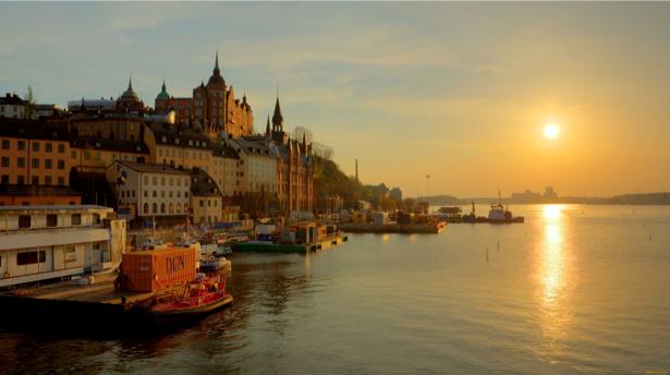 Фотообои Стокгольм, Швеция, город (city-0000351)