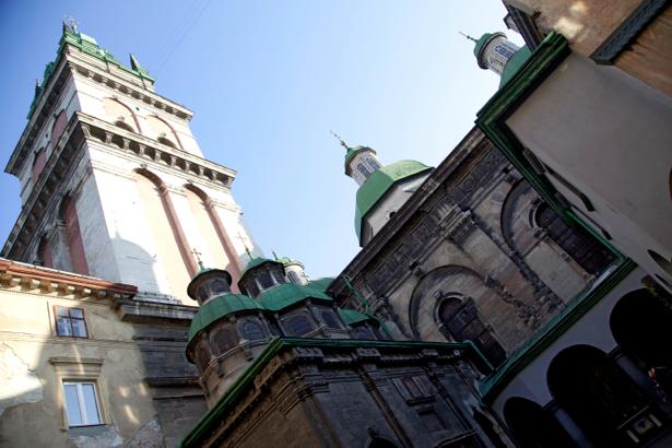 Фотообои Львов костел собор (city-0000647)