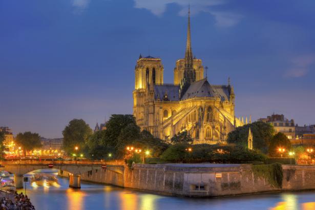 Фотообои Нотр Дам де Париж (city-0000755)