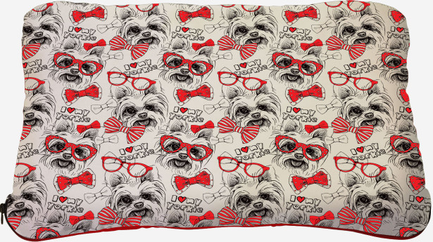 Подушка I love my yorkie (dog-7)