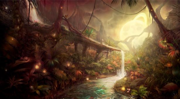 Фотообои фантастический  лес (fantasy-0000056)