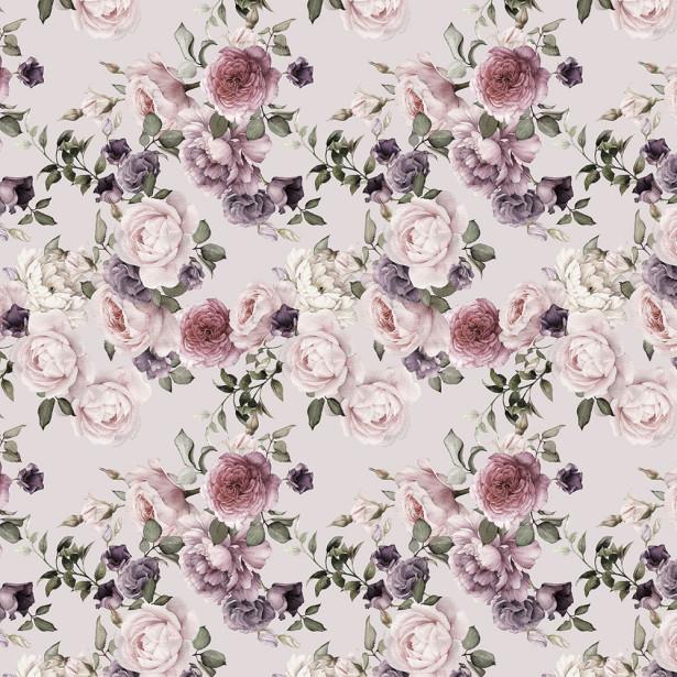 Фотообои акварельные розы (flowers-780)