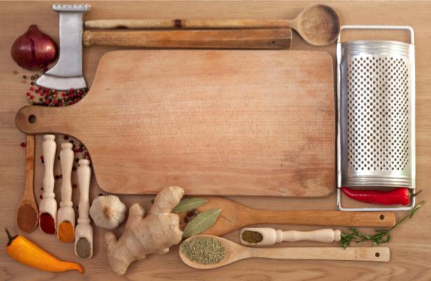Фотообои на кухню кухонный стол (food-0000177)
