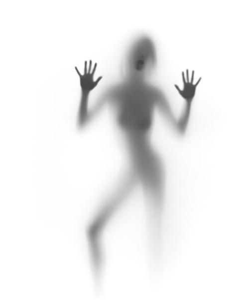 Фотообои фигура руки контражур (glamour-0000159)