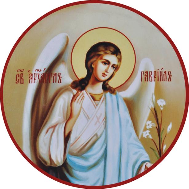 Икона Святой архангел Гавриил (icon-00076)