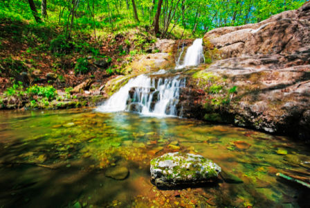 Фотообои с природой водопад 3Д (nature-00148)