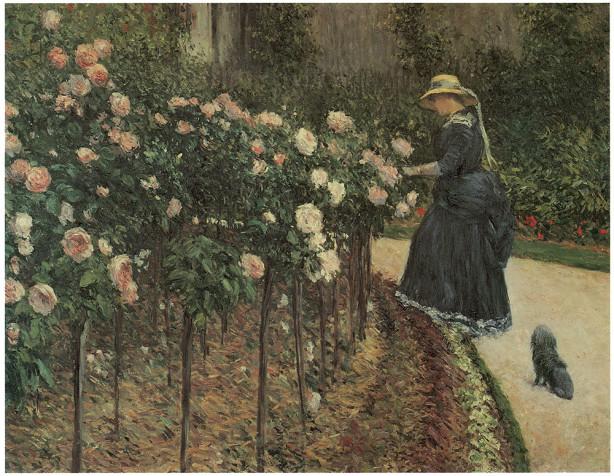 сад, цветы (pf-26)