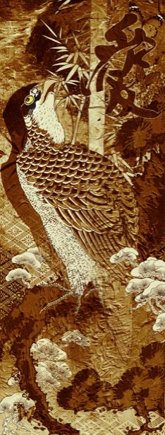 Фотообои Восточная графика (printmaking-0000026)