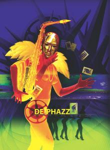 Фотообои музыкальные De-Phazz (printmaking-0000030)