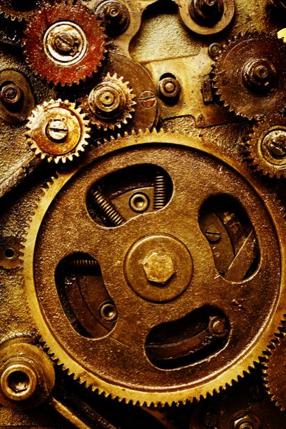 Фотообои техно часы (retro-vintage-0000193)