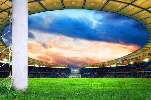 Фотообои футбольный стадион (sport-0000032)