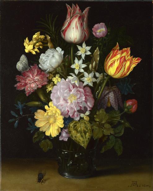 Фотообои натюрморт с цветами (still-life-0044)