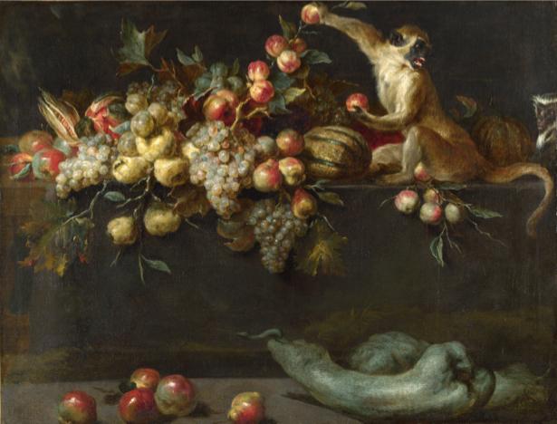 Фотообои натюрморт из фруктов (still-life-0057)