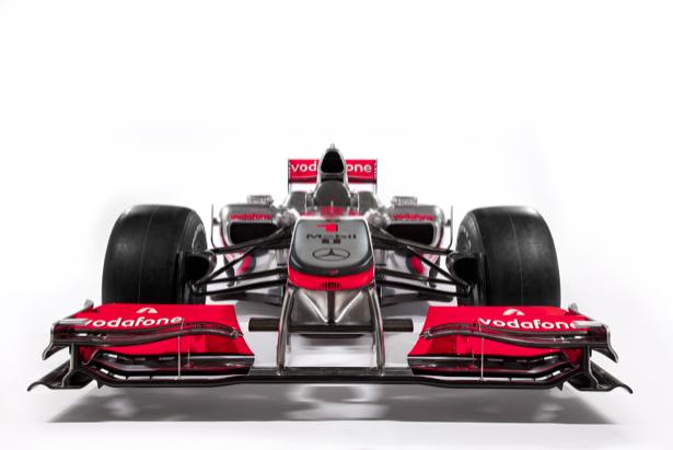 Фотообои гоночный болид Vodafone McLaren Mercedes (transport-0000096)