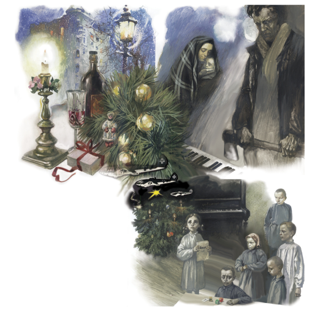 Иллюстрации к произведению И. Жиленко Детский альбом (ukraine-0161)