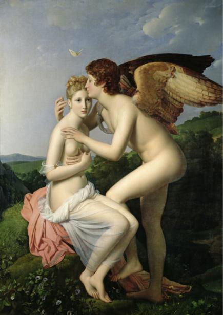 Фреска - Обои Любовь и психика (angel-00066)