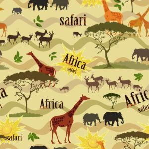 Фотообои Паттерн Африка сафари (animals-0000470)