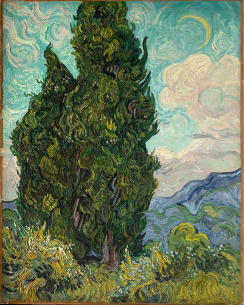 Ван Гог пейзаж (art-0000176)